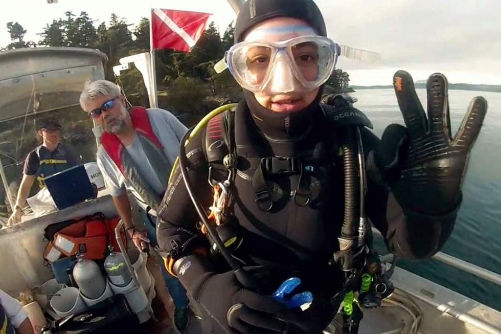 divers - #wetrackthat HTI Acoustic Telemetry